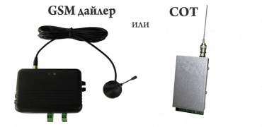 Охранителна система – със СОТ или с GSM дайлер